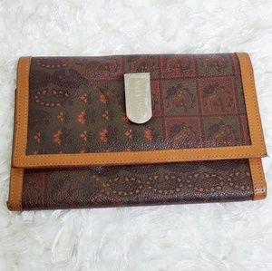 Escada vintage wallet made in Italy